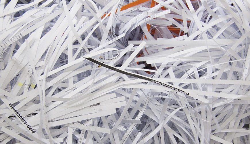 The Fundamental Importance of Paper Shredding