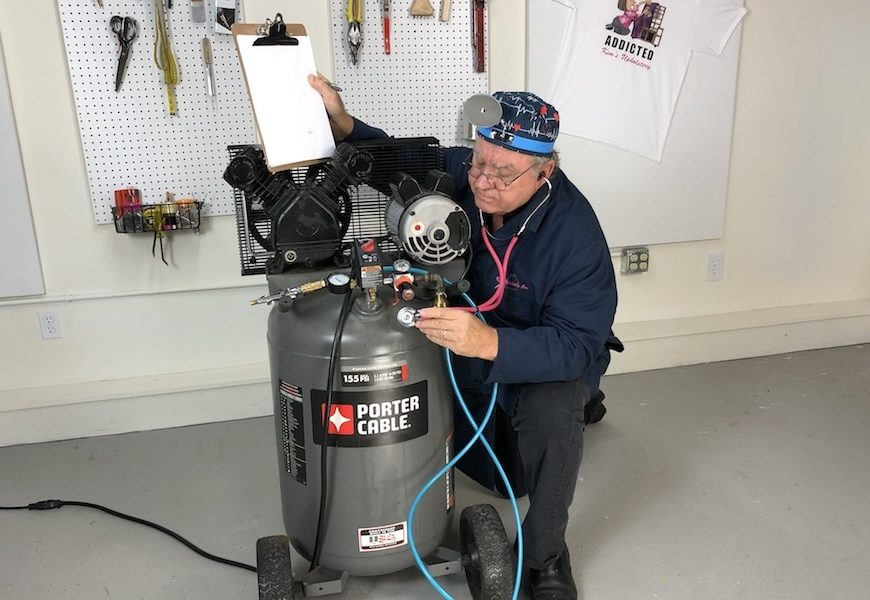 Don't Wait For Days to Repair the Air Compressor